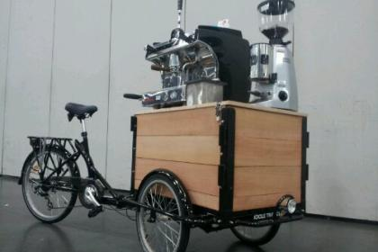 Icicle Tricycles Coffee and Espresso Bike