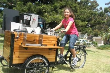 Icicle Tricycles Espresso and Coffee Bike