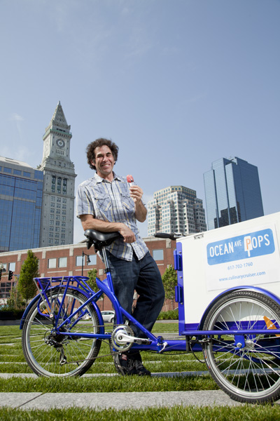 Icicle Tricycle PopsicleBike -Culinary Cruisers
