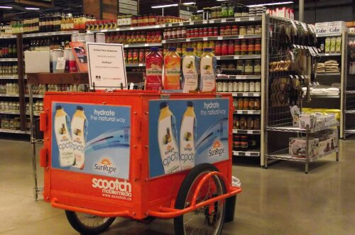 Icicle Tricycle Product Sampling & Marketing Bike