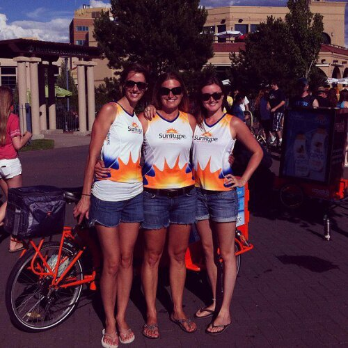 Icicle Tricycle Product Sampling & Advertising Bike