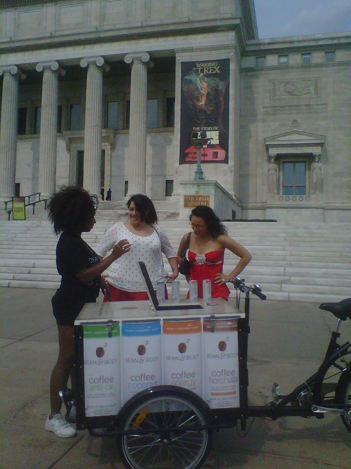 Icicle Tricycles Experiential Marketing Product Sampling Bike - Chicago.