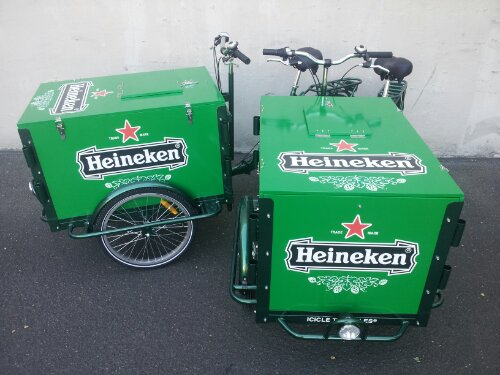 Icicle Tricycle Beer Bikes