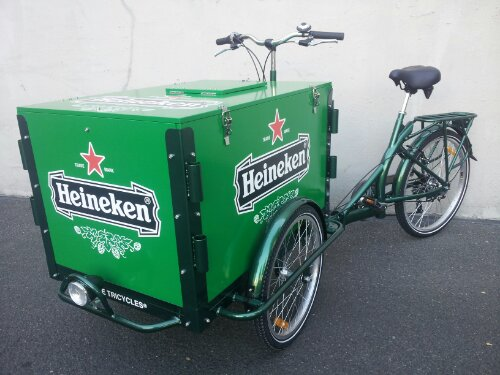 Icicle Tricycle Beer Bike