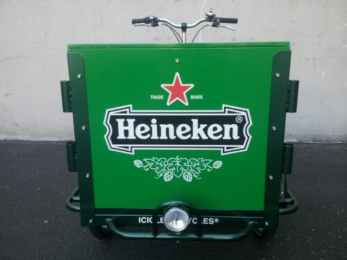 Heineken Beer Bike