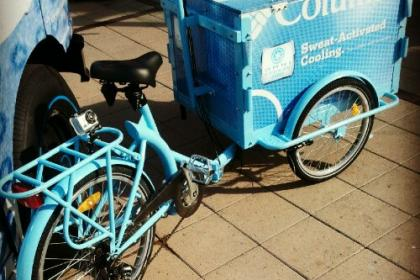 Icicle Tricycles Experiential Marketing and Advertising Bike