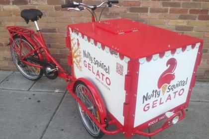 Icicle Tricycles Gelato Bike