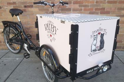 Icicle Tricycles Custom Cargo Bike