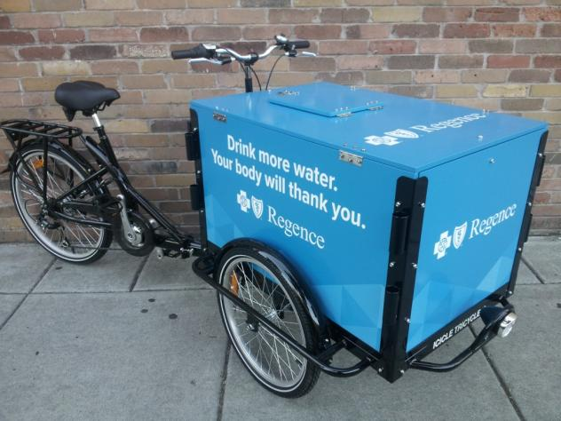 Icicle Tricycles Experiential Marketing Bike