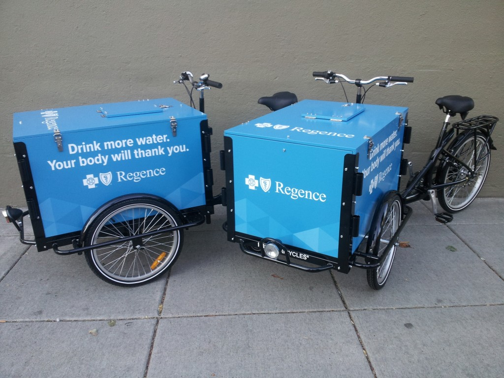 Icicle Tricycles Water Bike - Experiential Marketing Water Bike