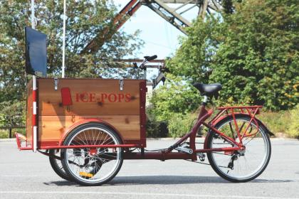Icicle Tricycles Popsicle Bike