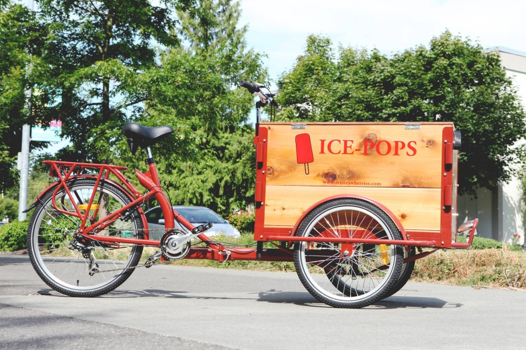 Icicle Tricycles Wood Box Popsicle Bike