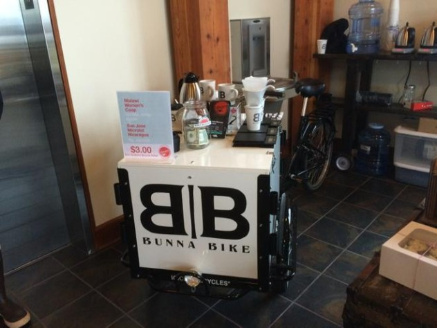 Icicle Tricycles Coffee Bike - Bunna Bike Coffee.