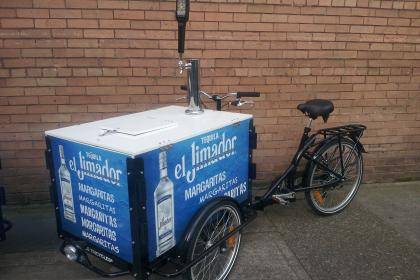 Brewery Beer Keg Bike for El Jimador Margaritas