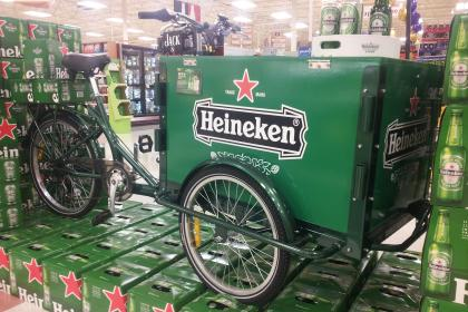 Icicle Tricycles Experiential Marketing Bike- Heineken