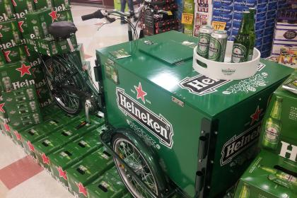 Icicle Tricycles Heineken Marketing Bike