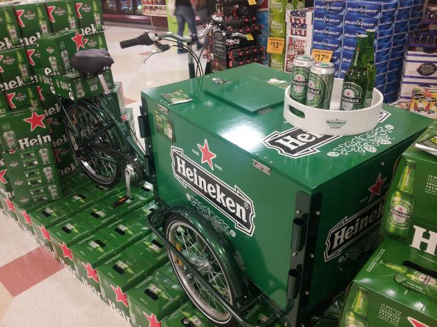 Icicle Tricycles Beer Bike - Heineken