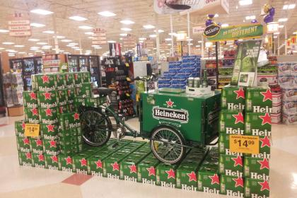 Icicle Tricycles Experiential Advertising Bike- Heineken