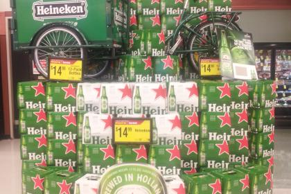 Icicle Tricycles Experiential Marketing Bike - Heineken