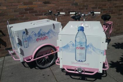 Icicle Tricycles Water Bike - Evian