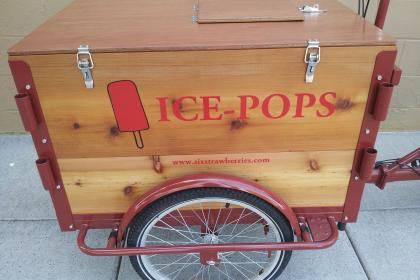 Icicle Tricycles Cedar Popsicle Bike - Ice Pop
