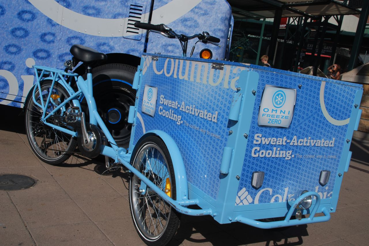 Icicle Tricycles Marketing & Advertising Bike