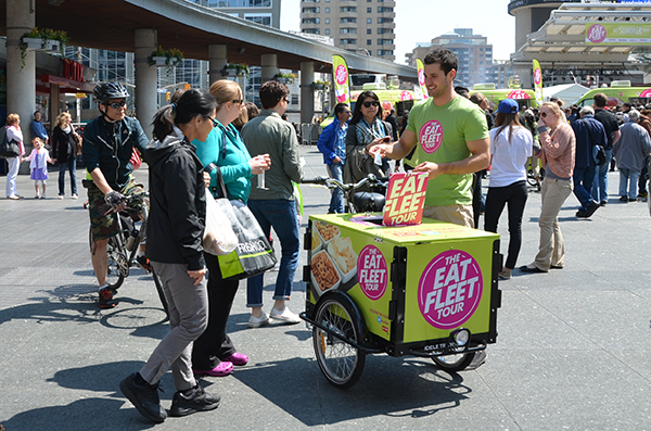 Icicle Tricycle Experiential Mobile Marketing Bike