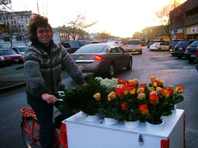 Icicle Tricycles Flower Bike