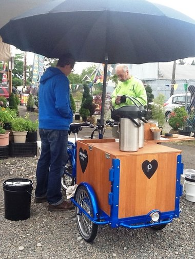 Icicle Tricycles Coffee Bike - Pour Pour Coffee