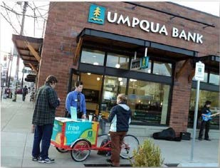 Icicle Tricycles Community Bank Bike - Umpqua Bank