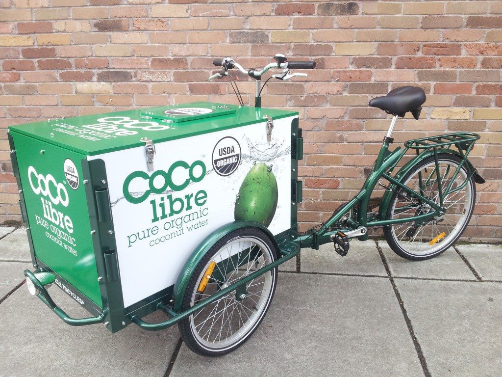 Icicle Tricycles Beverage Bike