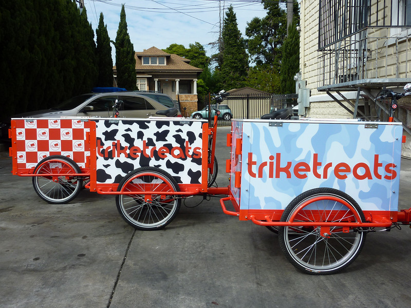 Icicle Tricycles Experiential Marketing Bikes