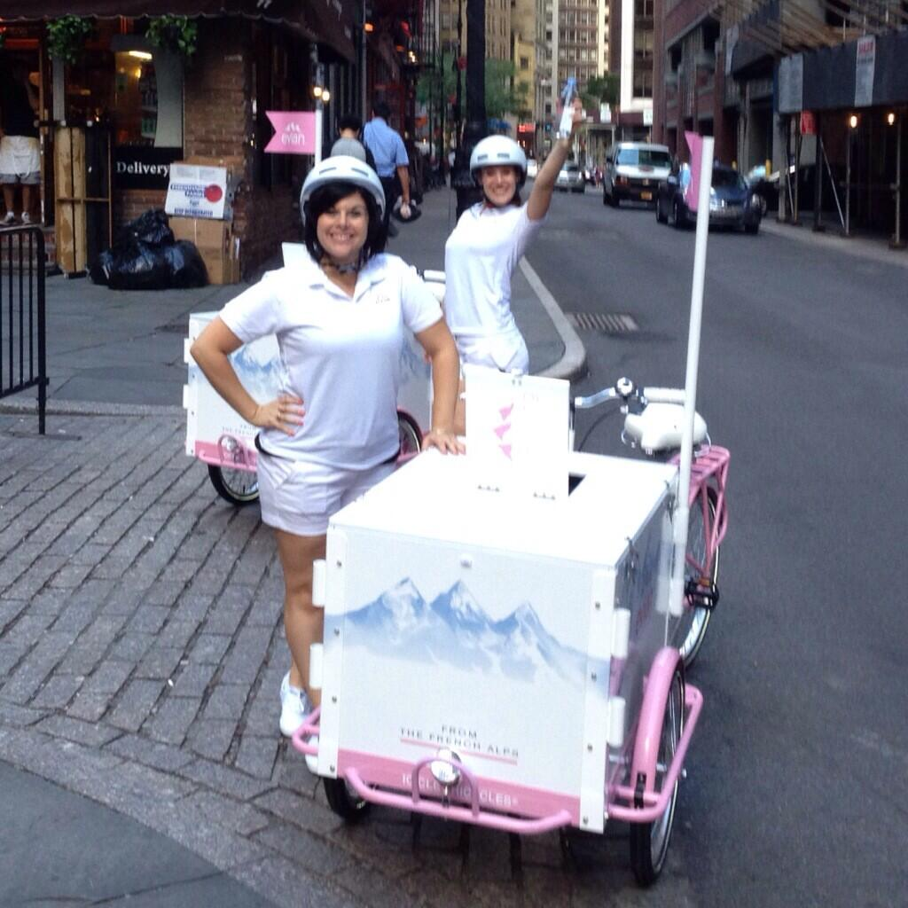 Icicle Tricycles Marketing Bike