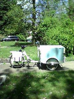 Icicle Tricycles Ice Cream Bike