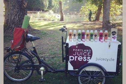 Icicle Tricycles Mobile Juice Bar Bike