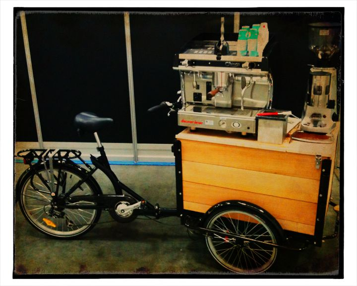 Icicle Tricycles Espresso Coffee Bike
