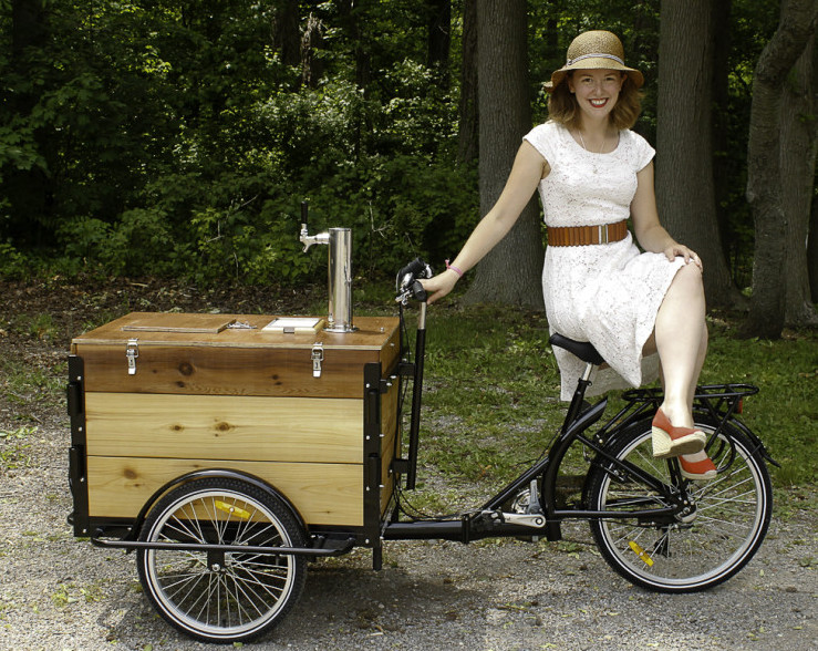 Cold Brew Coffee Bike Tricycle