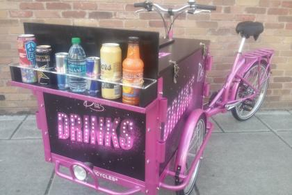 Icicle Tricycles Drink Bike
