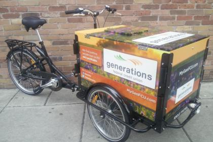 Icicle Tricycles Credit Union Bike - Generations CU