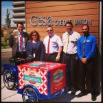 Icicle Tricycles Credit Union Bike - Gesa CU