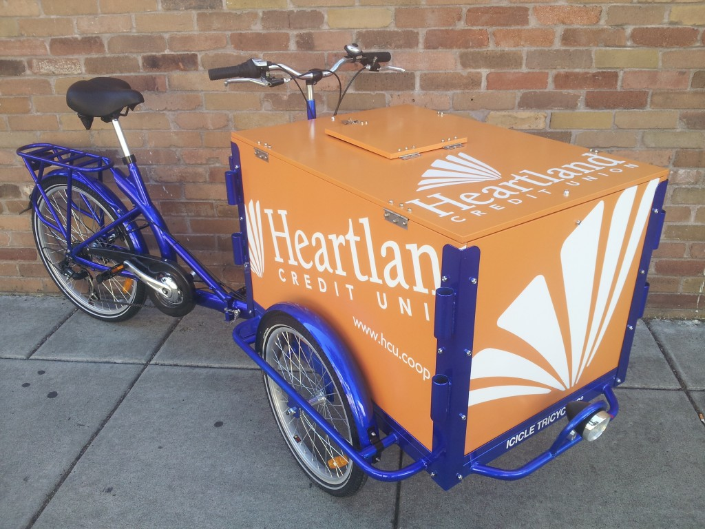 Icicle Tricycles Credit Union Bike - Heartland CU