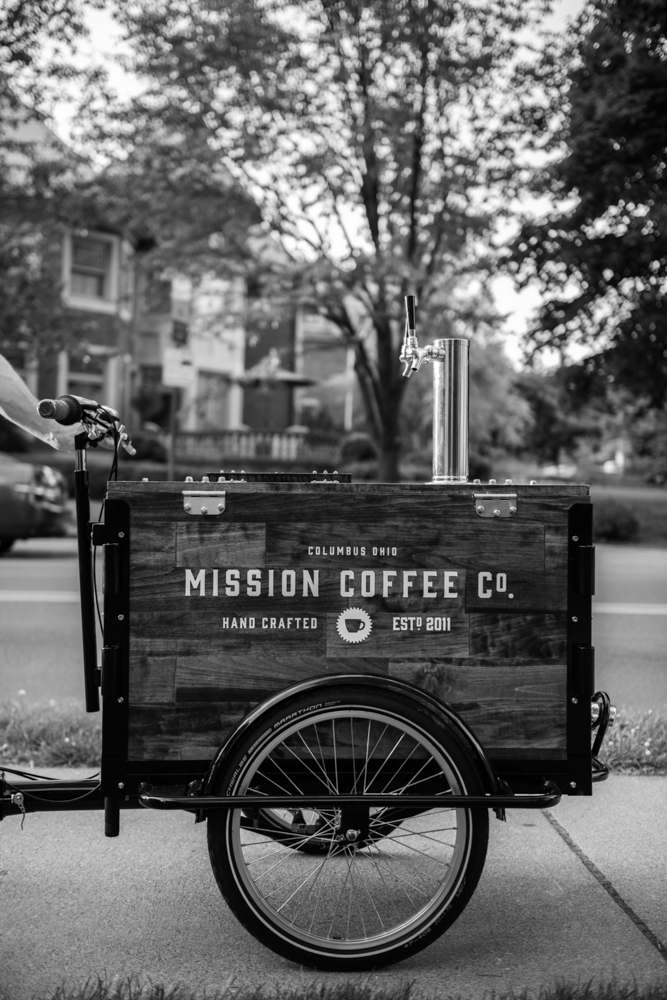 Icicle Tricycle Cold Brew Coffee Bike - Mission Coffee Co.