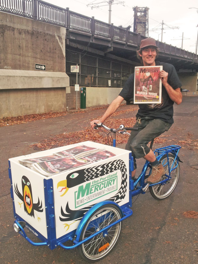 Icicle Tricycles Newspaper Delivery Bike - Delivery Bikes to ride out the word!