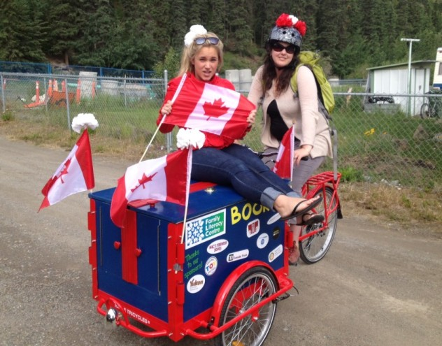Icicle Tricycles Book Bike