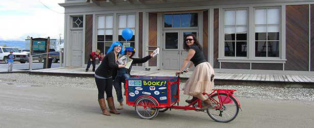 Book Bike - mobile information trike