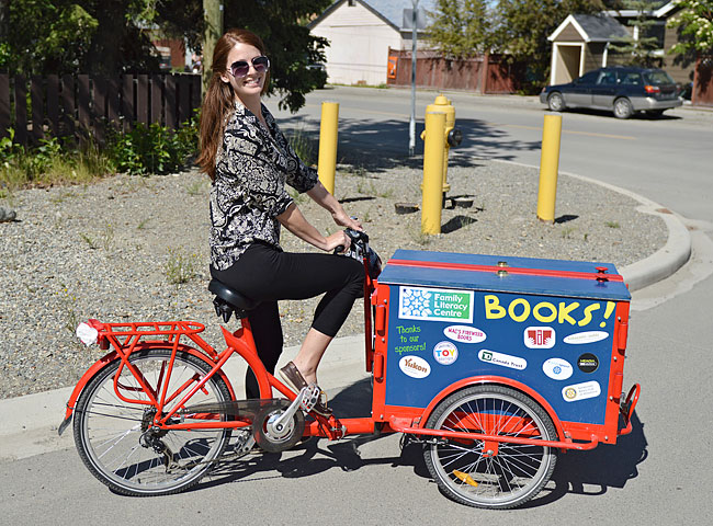 The Book Bike | Mobile Libraries and Information Kiosks Custom Built Bicycle