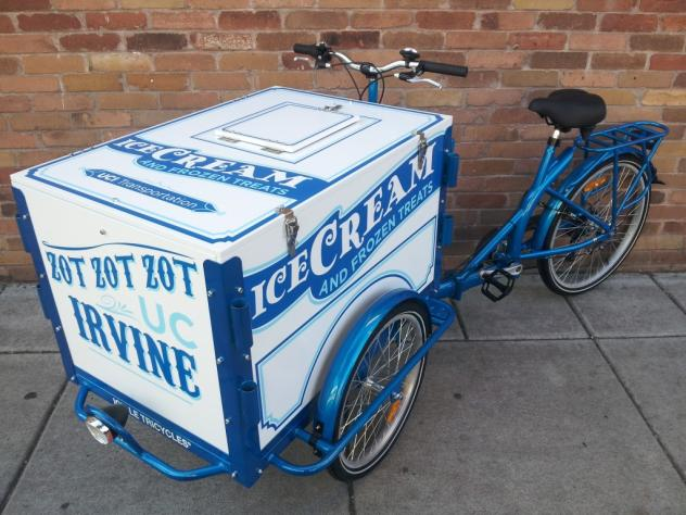 Icicle Tricycle College Campus Bike - Ice Cream Bike