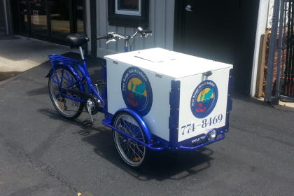 Icicle Tricycles Food Bike - The Fish Bike