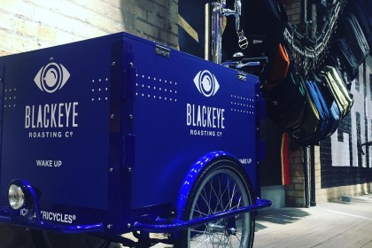 Coffee Bike, cold brew trike