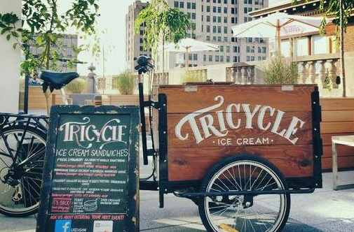 Ice Cream Bike - Icicle Tricycles - Tricycle Ice Cream